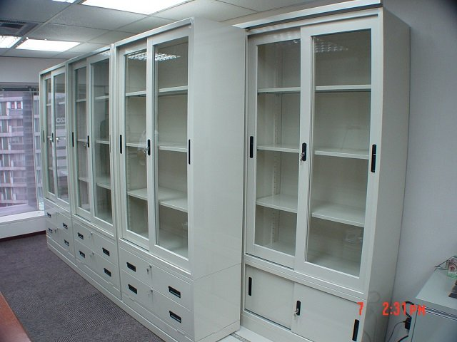 Lateral sliding shelving_007